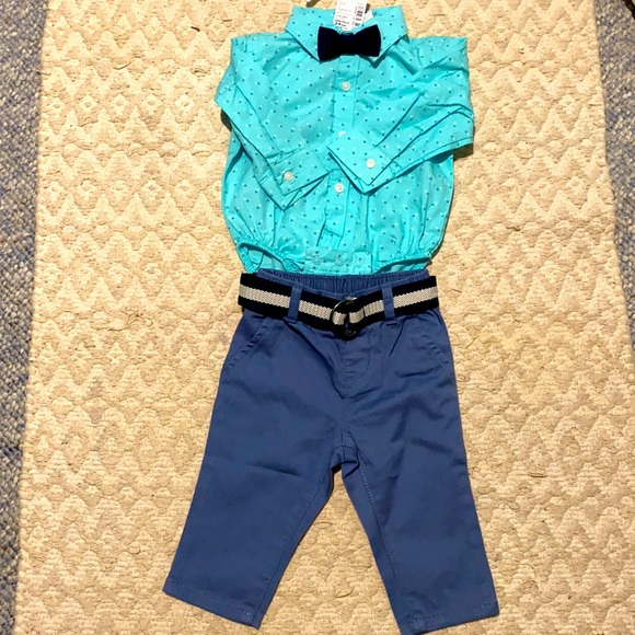 Children's Place adorable outfit for boys NWT